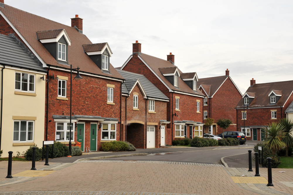 Row of attached houses