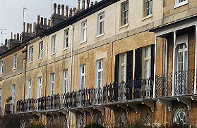 concerned about own property row of terraced houses
