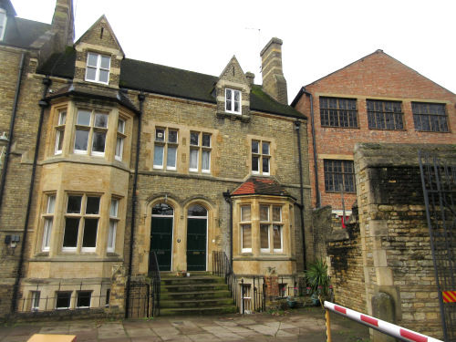 Party Wall Surveyors - photo of attached period property