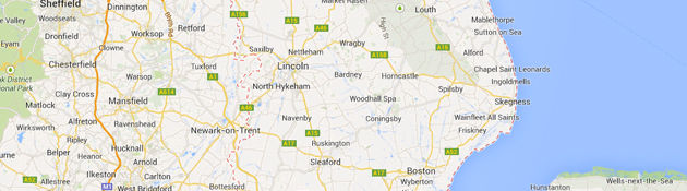 Lincolnshire map image